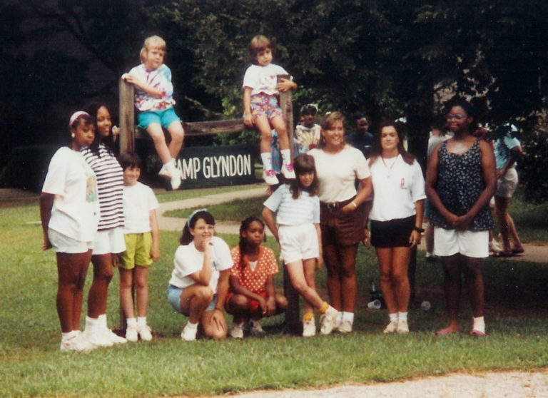 Marissa at Camp Glyndon Age 5