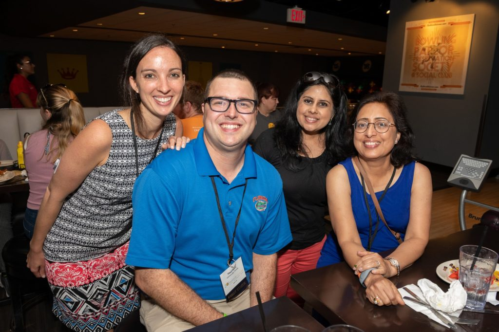 New Fellows and Faculty enjoyed the night out