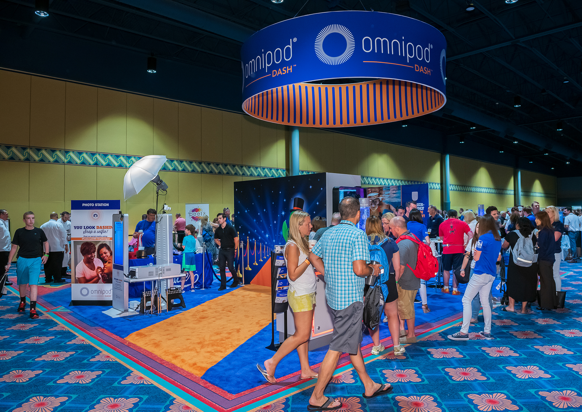 Insulet booth from Orlando 2019