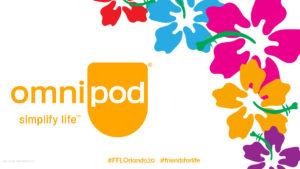 Omnipod Simplify Life_Hawaiian Flowers