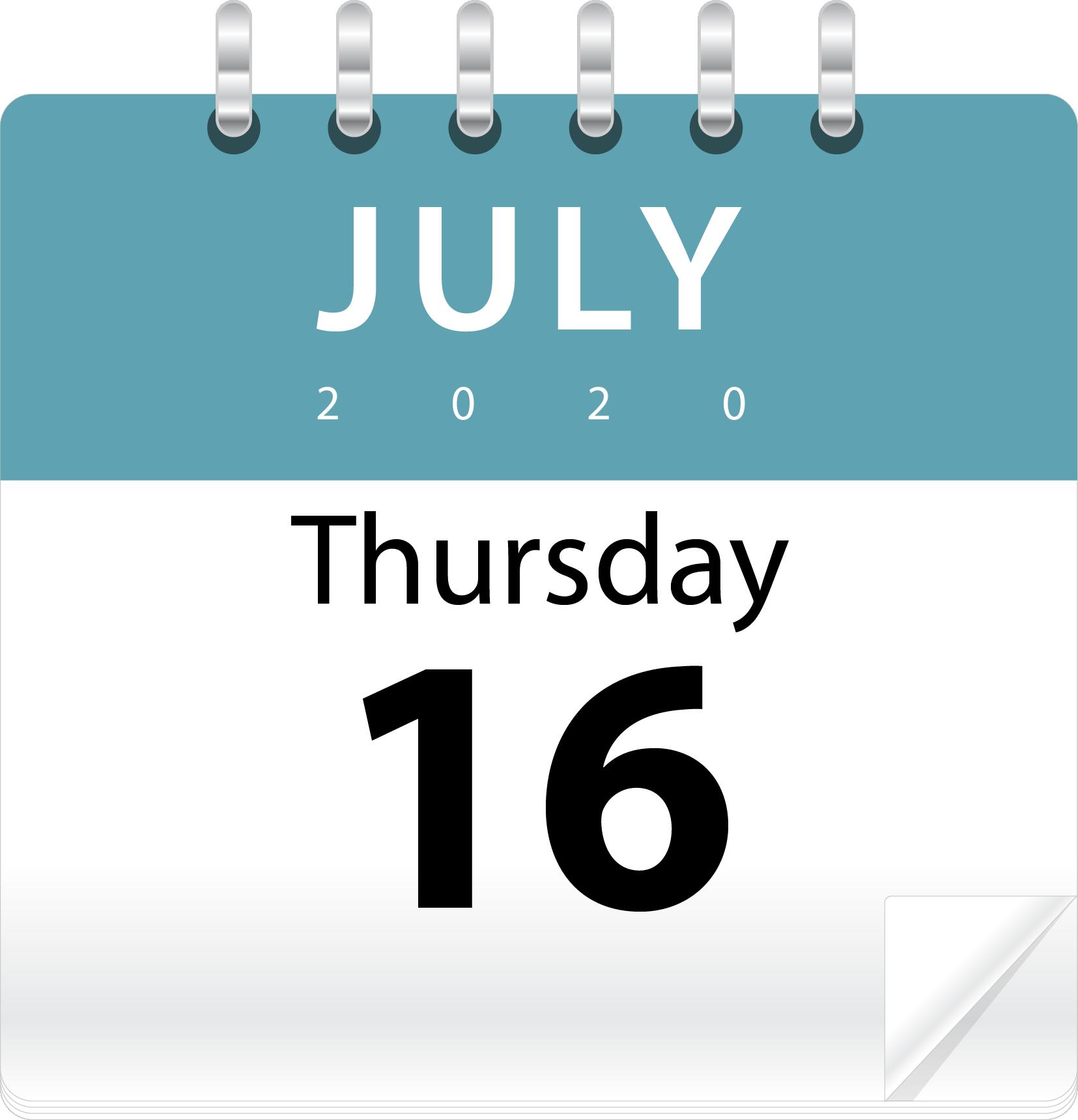 Thu July 16